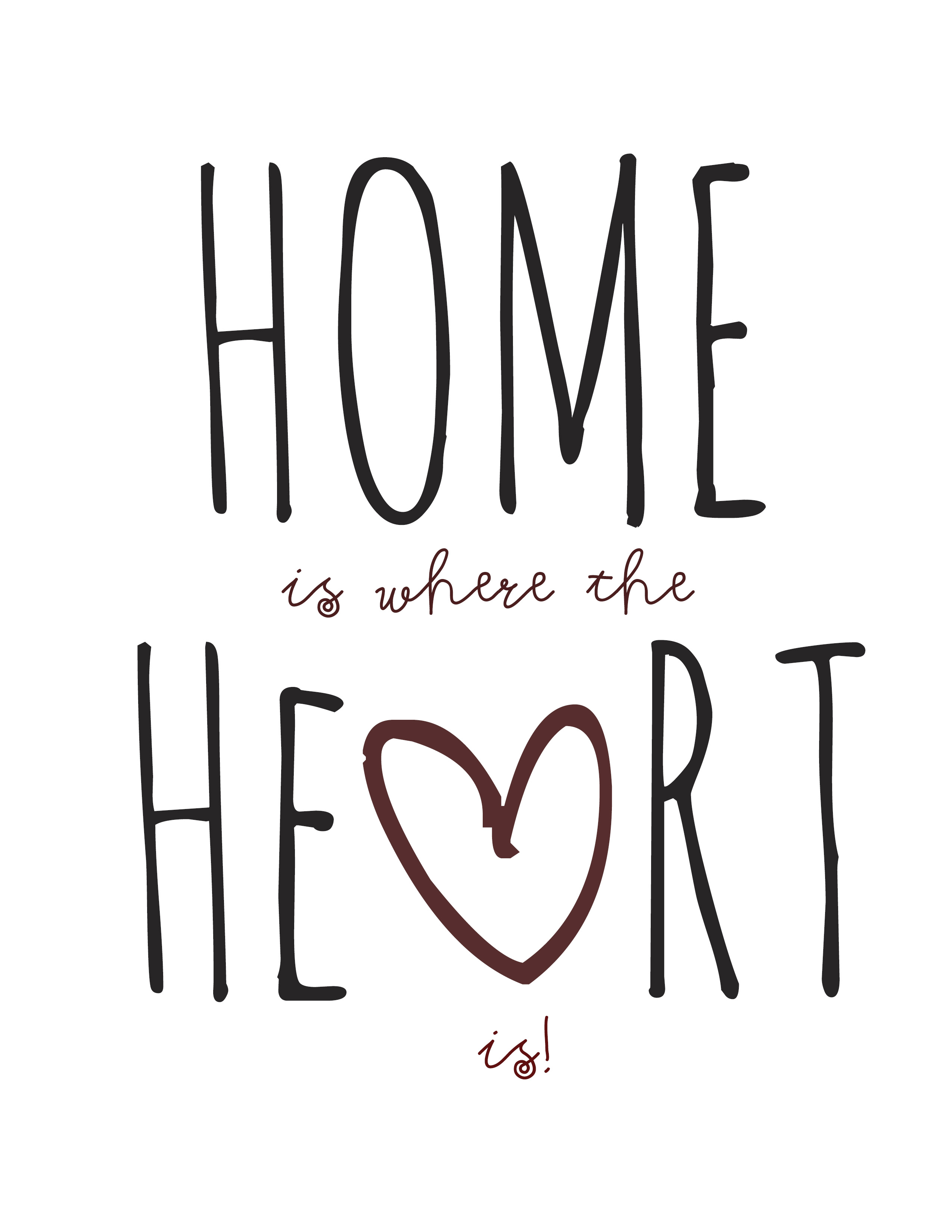 home is where the heart breaks the brighter side